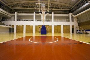 New Basketball Court Floor