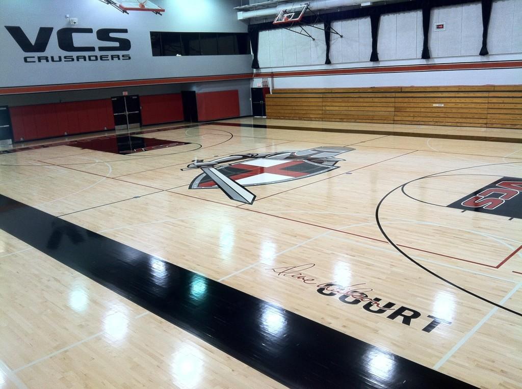Gym Floor Installation